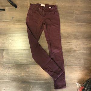 5/$5 Ardene Burgundy Size 3 Jeans